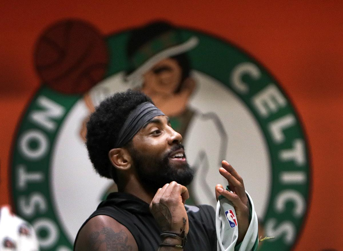 newest 5964a da868 Five thoughts about Kyrie Irving's surprising Celtics ...
