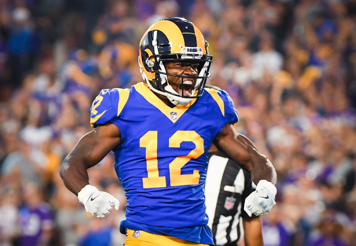 Brandin Cooks has 452 yards and a touchdown on 26 catches through four  games. 97fc80ffa