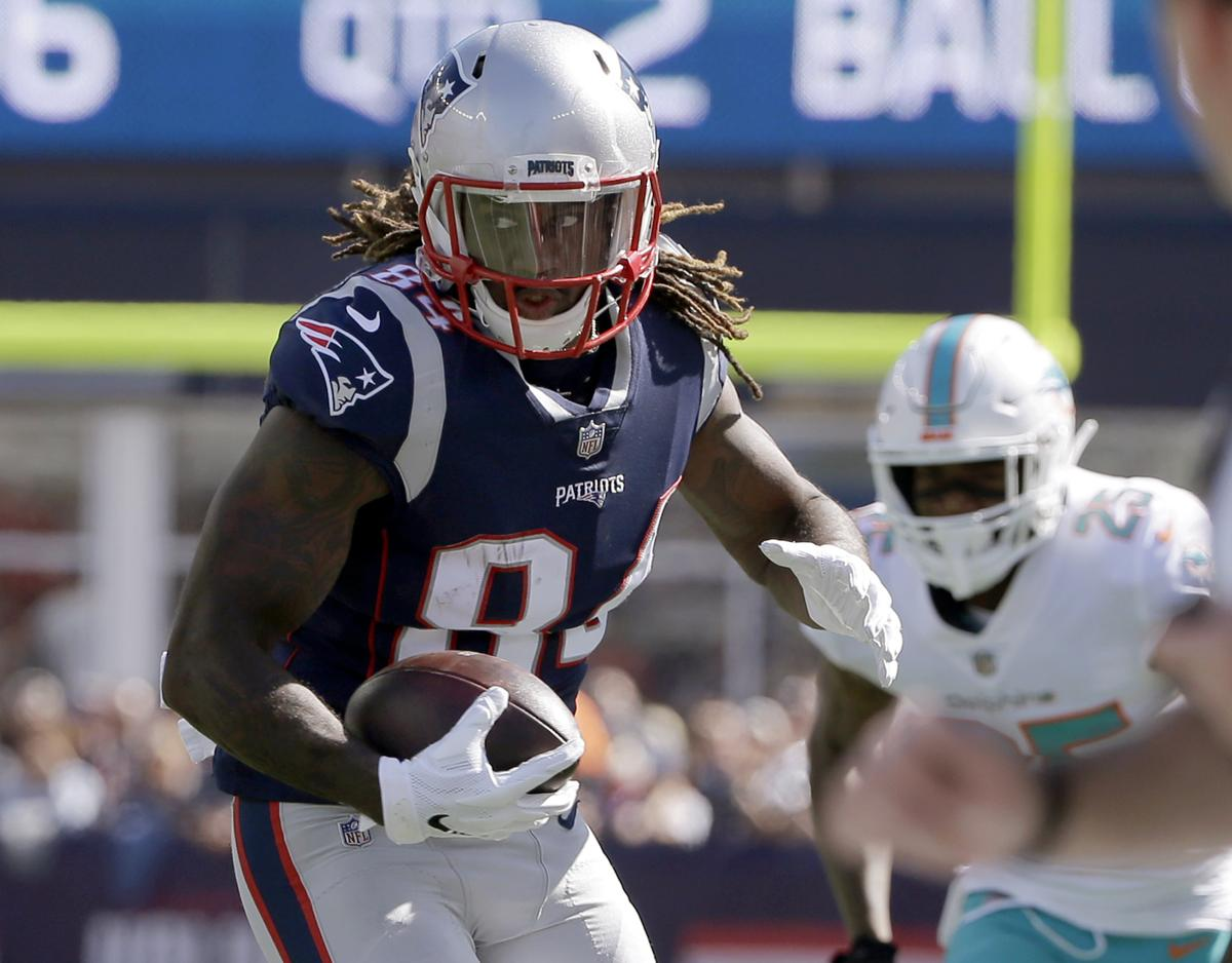 99b3309c2 Patriots  Cordarrelle Patterson has been blocking it all out
