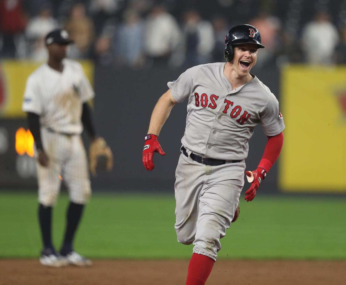best sneakers fe7a9 76812 Brock Holt takes a seat after taking spin on cycle