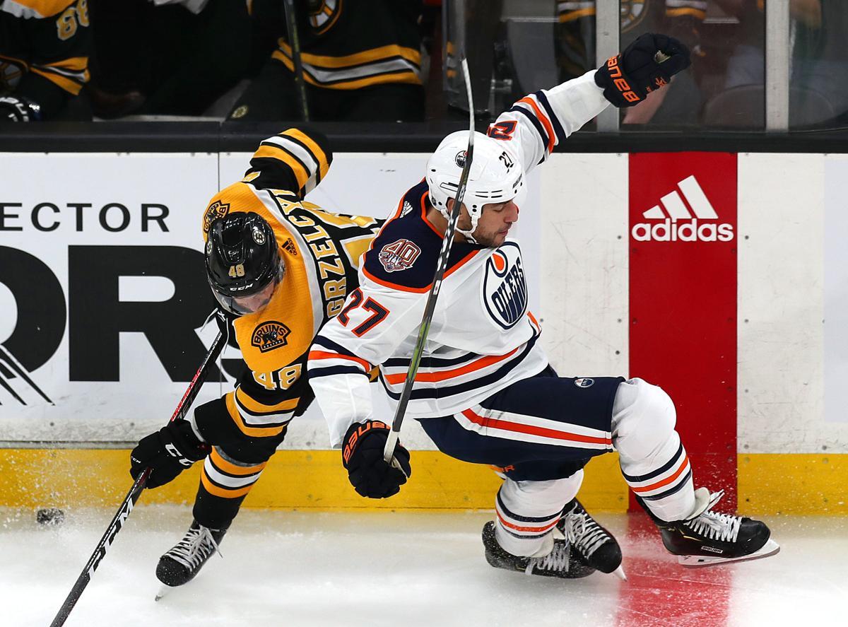 50190ec75 Boston-10 11 18 Boston Bruins vs Edmonton Oilers- Bruins Matt Grzelcyk