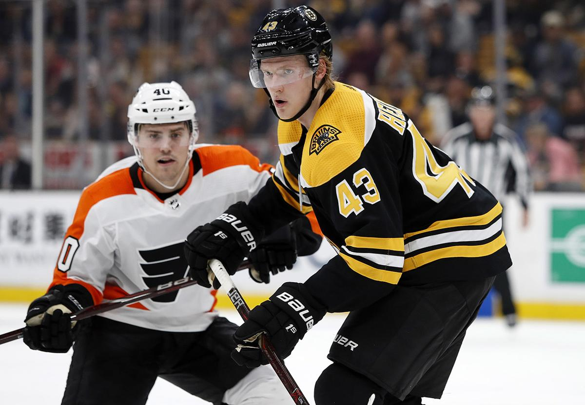 a88d3a5bff2 Bruins get back home tonight to take on Flyers