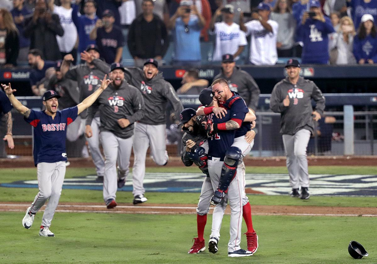 790d05f7 Red Sox win the 2018 World Series. The Boston Red Sox took on ...