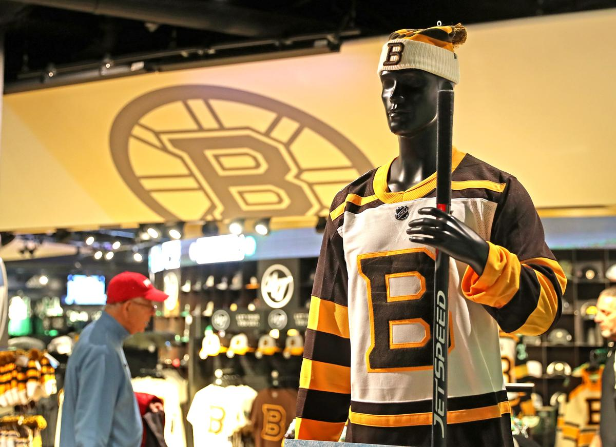 c49e4659898 Bruins reveal 2019 Winter Classic jerseys