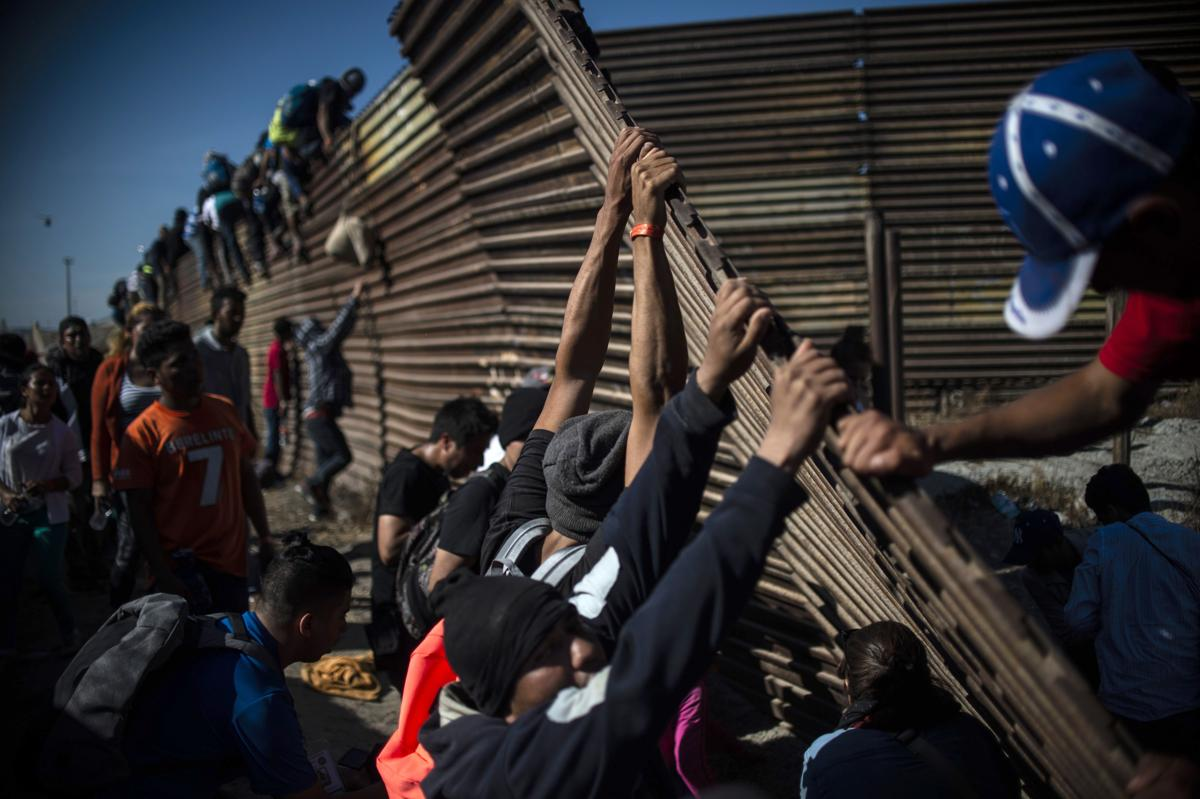 Chaos at the US border in Mexico - The Boston Globe