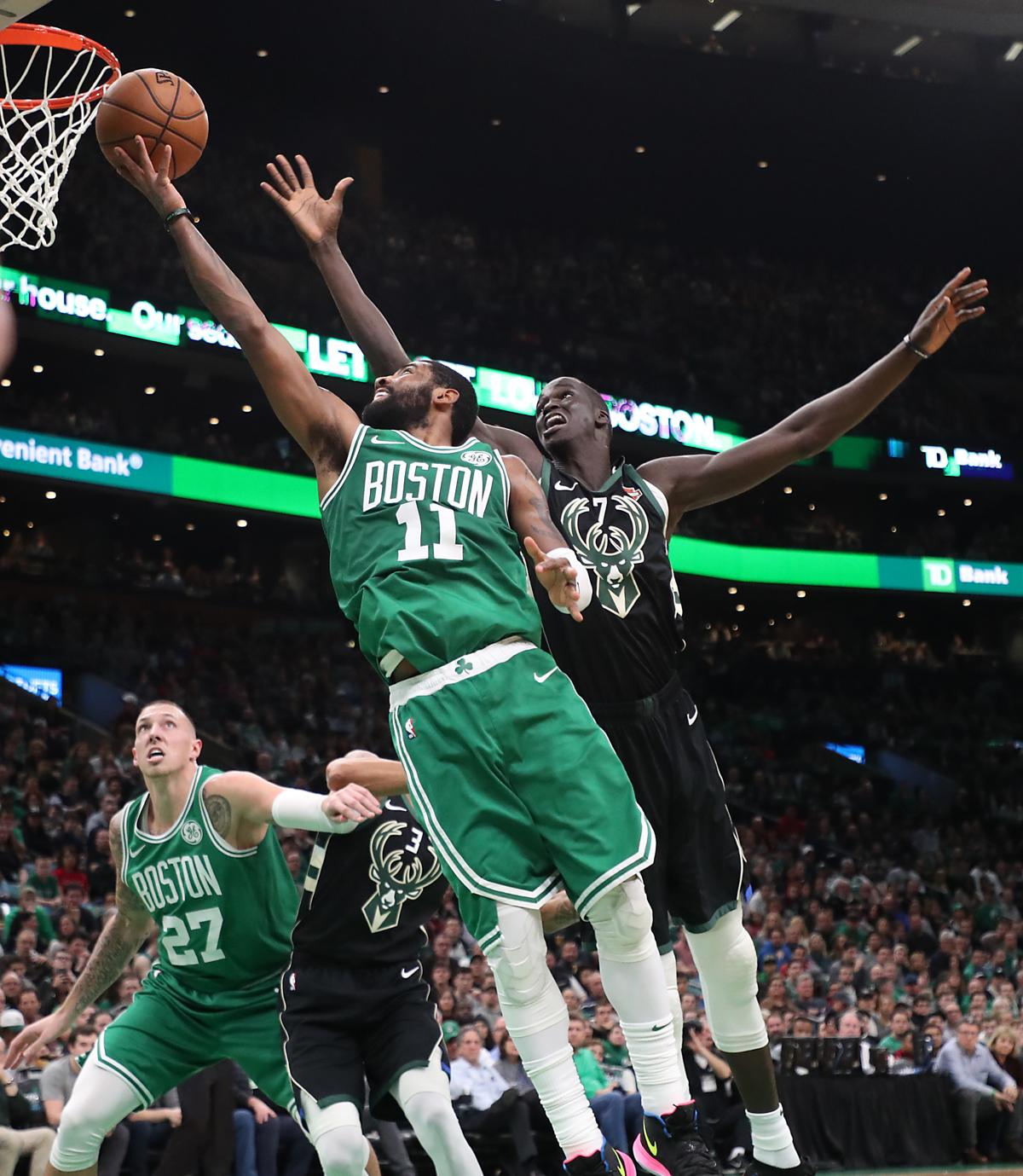 """bb2737057b31 How do the Celtics halt their 3-game slide  Kyrie Irving  """"The biggest  thing is patience and just being honest with one another."""""""