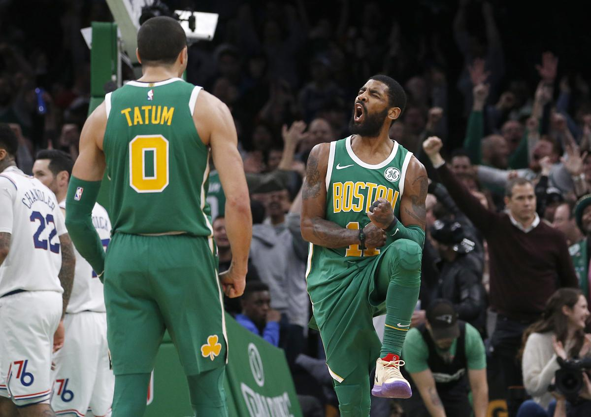 Celtics fend off Sixers in OT on Kyrie Irving s heroics 0c83a0638