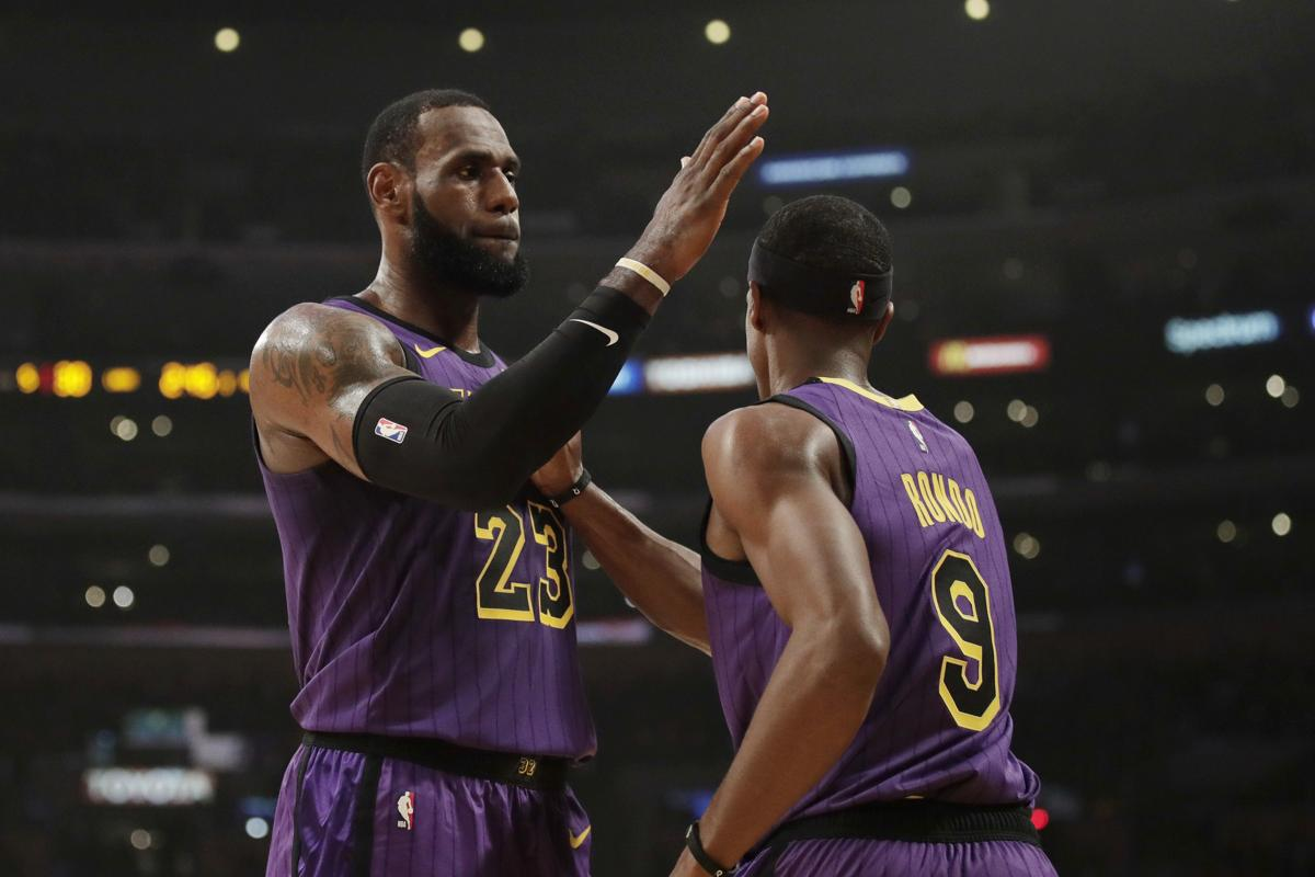 Lakers Rajon Rondo out a month after surgery on finger 14750c4d2
