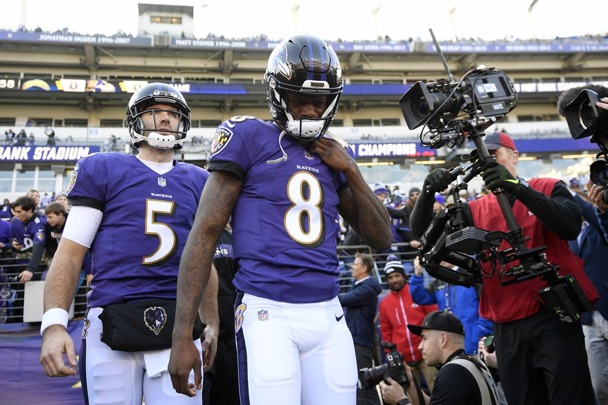 766da7958 Ravens stand by QB Lamar Jackson after loss