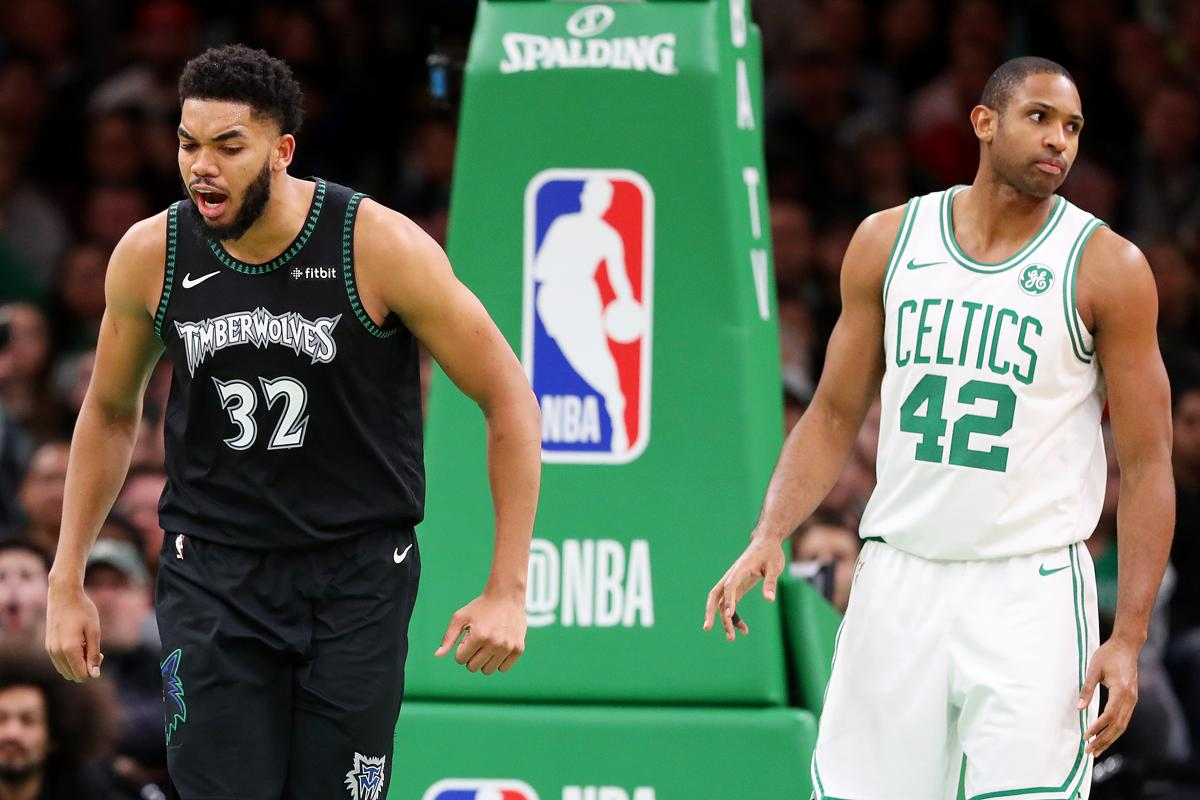 Karl-Anthony Towns considers the Celtics  Al Horford a mentor. 10ce5f28b