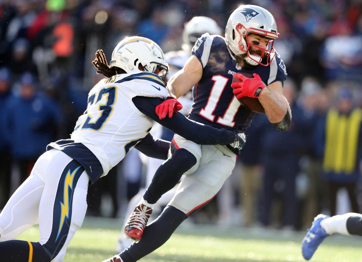 Image result for julian edelman chargers
