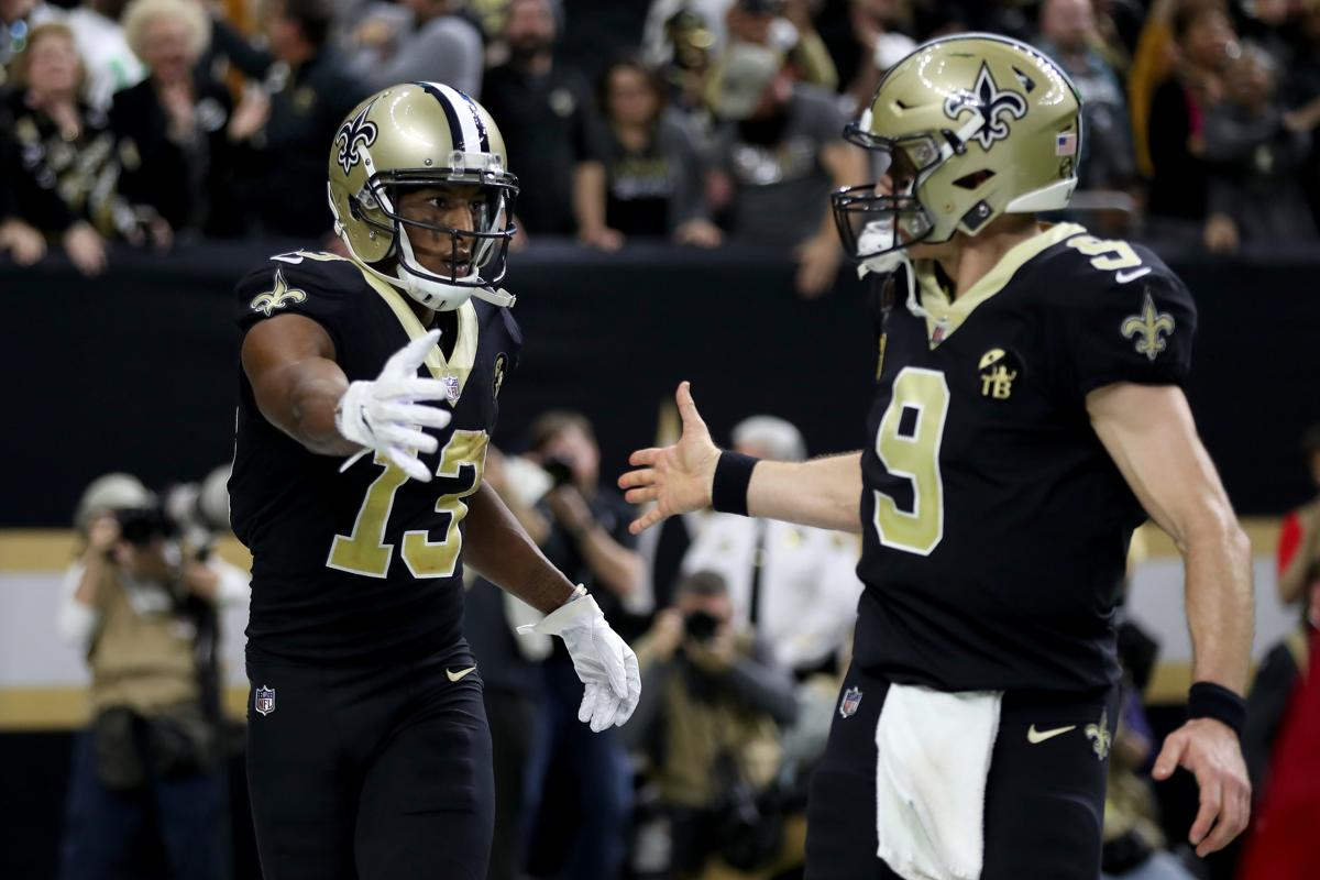 Drew Brees rallies Saints past Eagles to NFC title game 1a4f3a014