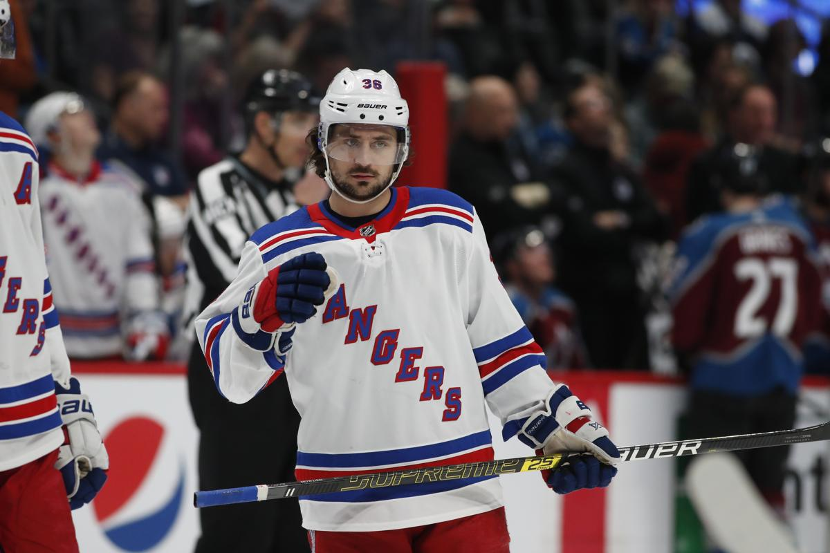 1459e93f0c4 Mats Zuccarello of the Rangers is a proven scorer with speed and a skill  set that