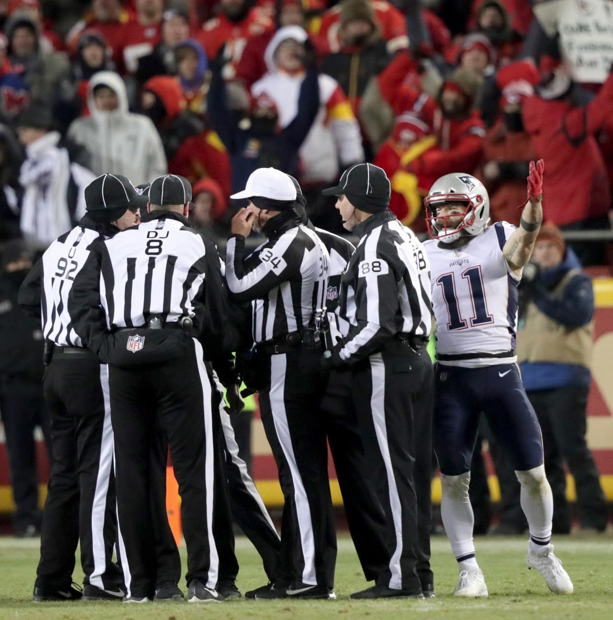 Patriots Survive A Scare When Replay Overturns Call