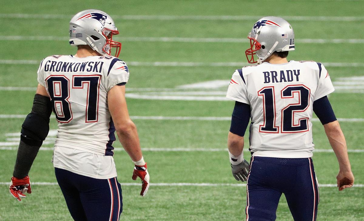 2aaeaa9af Tom Brady posted a celebratory Instagram video with Rob Gronkowski ...