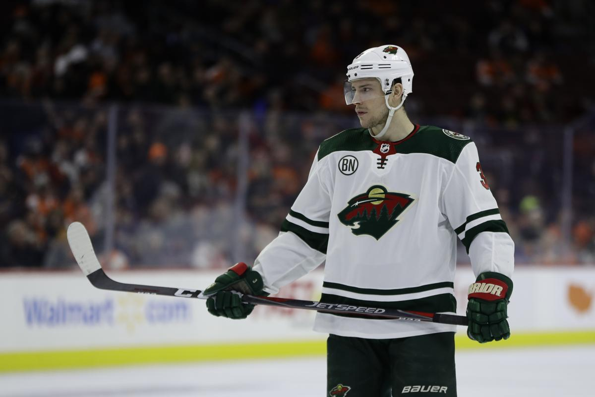 Minnesota Wild s Charlie Coyle in action during an NHL hockey game against  the Philadelphia Flyers c0048e818