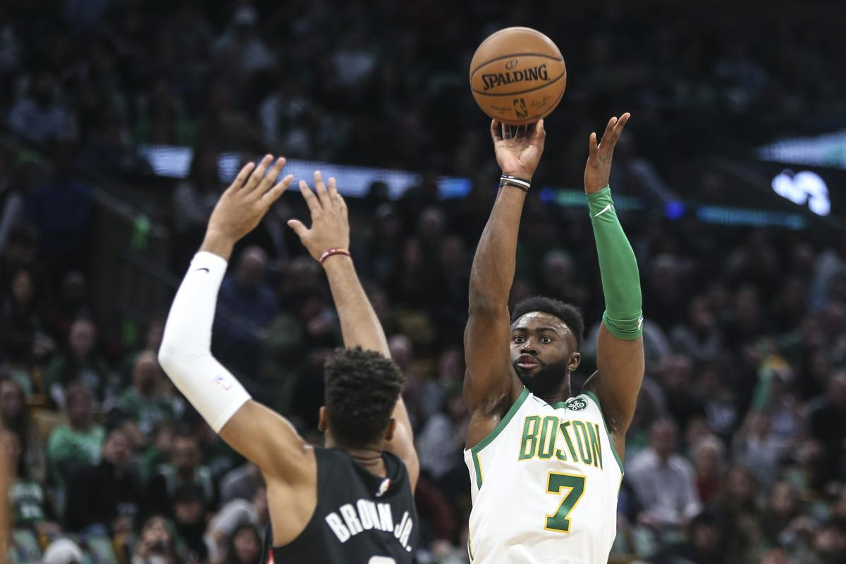 11cb026e3 Jaylen Brown s been big part of Celtics  turnaround