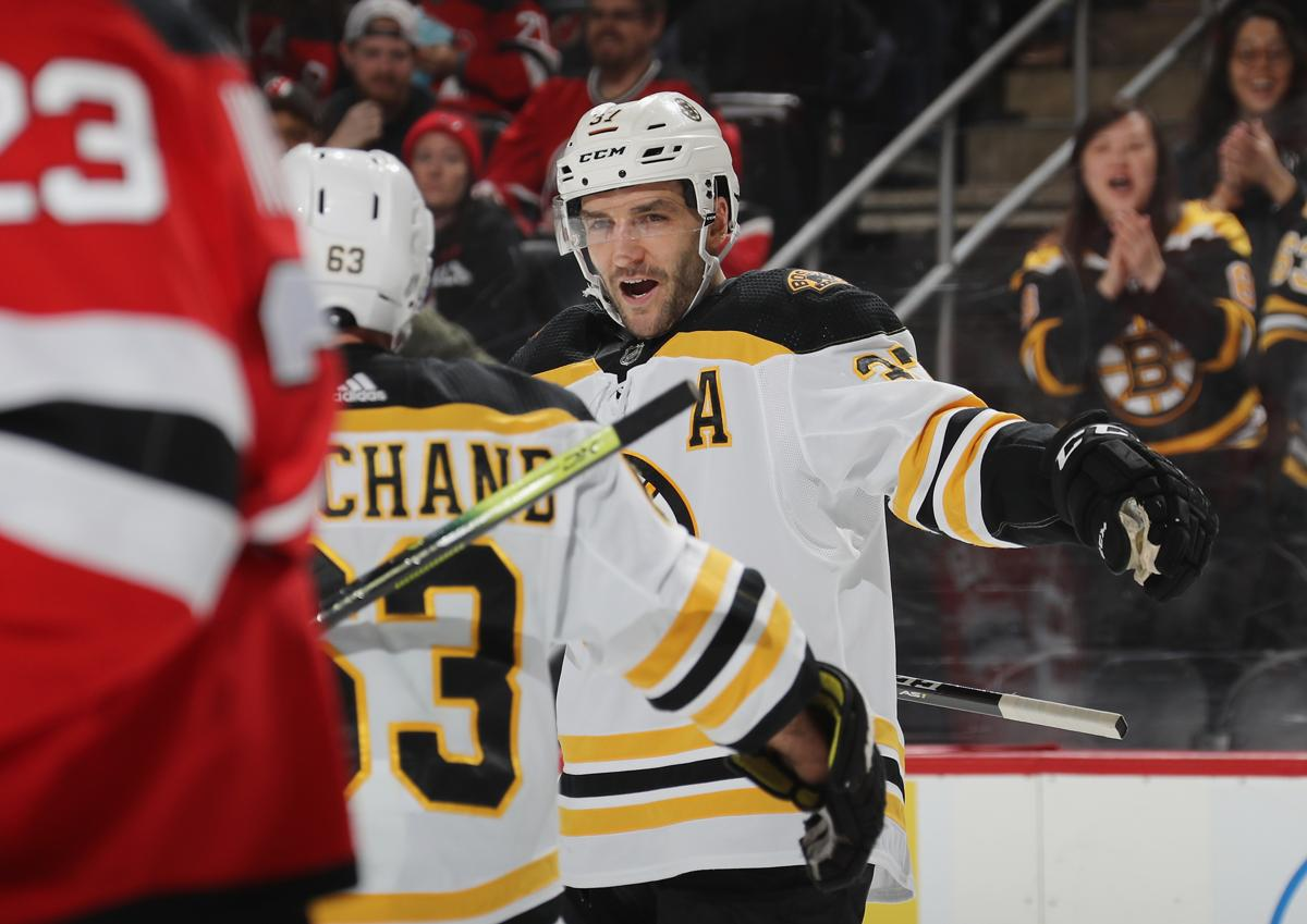 Patrice Bergeron leads offense as Bruins skate past Devils 3a64c0369