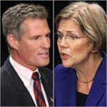 Senator Scott Brown and challenger Elizabeth Warren focused on policy issues during their debate at Springfield Symphony Hall on Wednesday.