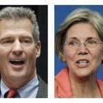 Senator Scott Brown and challenger Elizabeth Warren have been a constant presence on television.