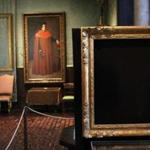 Empty frames mark the loss of masterpieces stolen from the Isabella Stewart Gardner Museum.