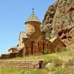 Noravank is a 13th-century monastery in the Amaghu Valley.