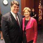 Mike Vlacich worked with US Senator Jeanne Shaheen when she was governor of New Hampshire, and he ran her recent reelection campaign for her Senate seat.