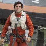 "Oscar Isaac as Poe Dameron in""Star Wars: The Force Awakens."""