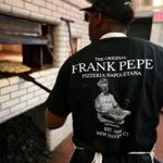 11/15/2015 Chestnut Hill Frank Pepe has opened a new location in Chestnut Hill . Steven Payne (cq) one of the pizza cooks at the new Frank Pepe's in Chestnut Hill. Globe/Staff Photographer Jonathan Wiggs