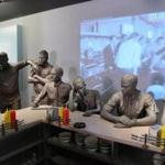 """Standing Up by Sitting Down"" exhibit at National Civil Rights Museum at the Lorraine Motel."