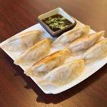 The Shandong-style pan-fried dumplings at the Dumpling House in Newton.