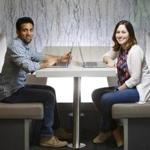 Hemal Shah, left, and Tali Sason, are helping Twitter better connect with mobile game developers.