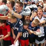 Training camp allows fans to get up close to the action.