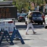 BOSTON, MA - 8/05/2016: Newbury street will close to traffic on Sunday in part as a summer treat, in part to test whether such a policy could work, long term (David L Ryan/Globe Staff Photo) SECTION: BUSINESS TOPIC 06newburystreet