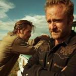 "Chris Pine (left) and Ben Foster play bank-robbing brothers in ""Hell or High Water."""