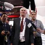 Former senator Gordon Humphrey of New Hampshire is doing everything he can to block Donald Trump. If the race is close, he says, he will back Hillary Clinton.