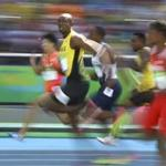 Usain Bolt is aiming for a third straight gold medal in the 100 meters.