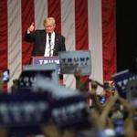 Donald Trump addressed supporters Saturday in Fairfield, Conn.