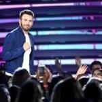 Chris Evans (here at the Teen choice Awards) participated in a social media campaign that's raising awareness about the alarming rate of suicide among military veterans.