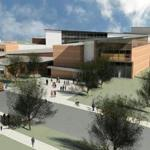 A rendering of the planned new Minuteman High School.