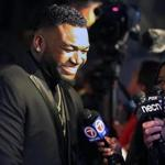 Boston, MA- 11-14-16: Retired Red Sox DH David Ortiz is pictured at the