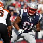 Marcus Cannon will receive $14.5 million guaranteed as part of the deal, according to NFL Network.
