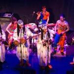 Tigue and Innov Gnawa joined forces for the final two pieces Friday.