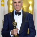 "Daniel Day-Lewis after winning an Academy Award in 2013 for ""Lincoln,"" one of a record three best actor Oscars the actor earned over his career."