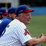 Chatham, MA - 7/13/2017 - Chatham A's manager John Schiffner is stepping down after 25 years. - (Barry Chin/Globe Staff), Section: Sports, Reporter: Brad Almquist, Topic: Chatham A's manager, LOID: 8.3.3074872928.