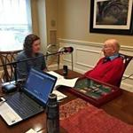Kimberly Hewitt, public services and special collections librarian at the Newton Free Library, interviewed US Army veteran Manny Brown for Newton Talks.