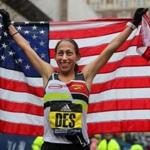 Desiree Linden won the Boston Marathon.