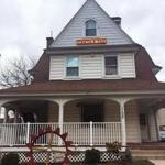 This Wednesday, April 18, 2018 photo shows the Theta Tau fraternity house in Syracuse, N.Y. Syracuse University Chancellor Kent Syverud announced the fraternity was suspended over videos with racist, sexist content. Syverud, described the video involving members of Theta Tau, a professional engineering fraternity, as racist, anti-Semitic, homophobic, sexist and hostile to people with disabilities. He said the videos were turned over to the school's Department of Public Safety for possible disciplinary or legal action. (Julie McMahon/The Syracuse Newspapers via AP)