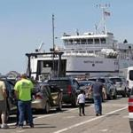 WOODS HOLE, MA - 5/11/2018: Steamship Authority ferry from Woods Hole to Marth's Vineyard (David L Ryan/Globe Staff ) SECTION: METRO TOPIC 11steamship