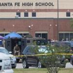 A shooting killed at least 10 people at Santa Fe High School in Texas on Friday.